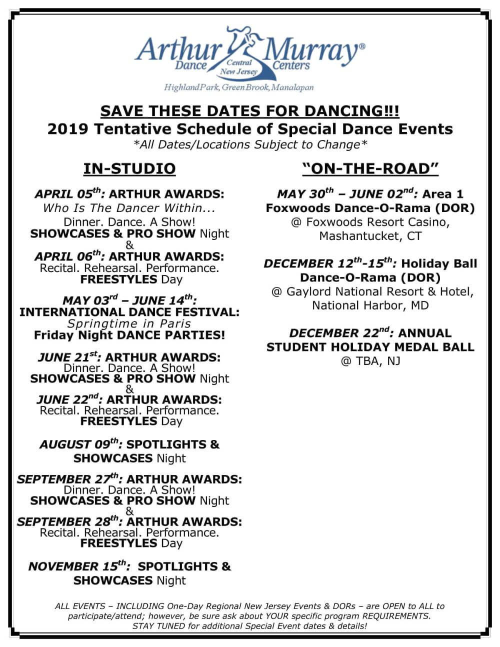 Arthur Murray Dance Studios of Central New Jersey